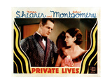 Private Lives, from Left, Reginald Denny, Norma Shearer, 1931 Giclee Print