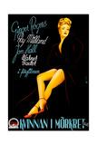 Lady in the Dark (AKA Kvinnan I Morkret), Ginger Rogers, (Swedish Poster Art), 1944 Giclee Print