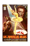 The Red Shoes, (AKA Las Zapatillas Rojas), Moira Shearer (Center), Anton Walbrook (Right), 1948 Giclee Print