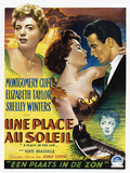 A Place in the Sun, (AKA Une Place Au Soleil), 1951 Giclee Print