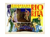 Rio Rita, from Left, Inset, Bebe Daniels, John Boles, 1929 Giclee Print