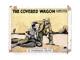 The Covered Wagon, J. Warren Kerrigan, Ernest Torrence, 1923 Giclee Print