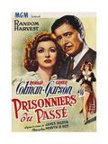 Random Harvest, (AKA Prisonniers Du Passe), 1942 Digitálně vytištěná reprodukce