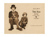 The Kid, from Left: Charles Chaplin, Jackie Coogan, 1921 Giclee Print