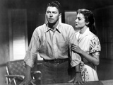 Hong Kong, from Left, Ronald Reagan, Rhonda Fleming, 1952 Photo