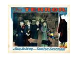 The Terror, from Left, Alec B. Francis, Holmes Herbert, John Miljan, Louise Fazenda, 1928 Giclee Print