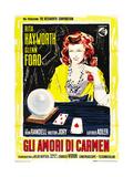 The Loves of Carmen, (AKA Gli Amori Di Carmen), 1948 Digitálně vytištěná reprodukce