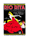 Rio Rita, (Swedish Poster Art), 1929 Giclee Print