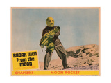 Radar Men from the Moon, Chapter 1 - Moon Rocket, George Wallace, 1952 Giclee Print