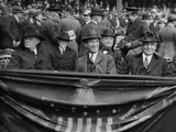 President Warren Harding at Yankee Stadium, April 24, 1923 Photo