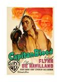 Captain Blood, (AKA Capitan Blood), Errol Flynn, 1935 Giclee Print