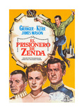 The Prisoner of Zenda, (AKA El Prisionero De Zenda), Spanish Poster Art, 1952 Giclee Print