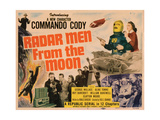 Radar Men from the Moon, Title Card, George Wallace (Helmet), 1952 Giclee Print