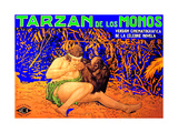 Tarzan of the Apes, Elmo Lincoln, 1918 Giclee Print