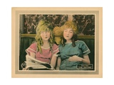 The Sisters, from Left, Lillian Gish, Dorothy Gish, 1914 Giclee Print