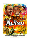 The Alamo, from Left, John Wayne, Richard Widmark, 1960 Giclee Print