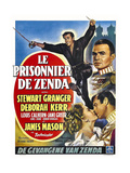 The Prisoner of Zenda, Clockwise, 1952 Giclee Print