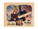 My Man Godfrey, from Left: Carole Lombard, William Powell, 1936 Giclee Print