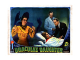 Dracula's Daughter, from Left, Gloria Holden, Nan Grey, Otto Kruger, 1936 Giclee Print