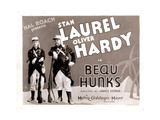 Beau Hunks, from Left: Stan Laurel, Oliver Hardy, 1931 Giclee Print