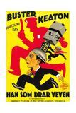 The Cameraman, Buster Keaton, 1928 Giclee Print