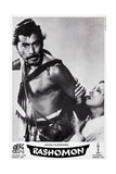 Rashomon, Swiss Poster Art, from Left: Toshiro Mifune, Machiko Kyo, 1950 ジクレープリント