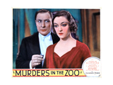 Murders in the Zoo, from Left, Lionel Atwill, Kathleen Burke, 1933 Giclee Print