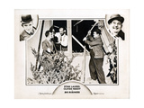 Big Business, Oliver Hardy, Stan Laurel, James Finlayson, 1929 Giclee Print