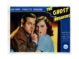 The Ghost Breakers, from Left, Bob Hope, Paulette Goddard, 1940 Giclee Print