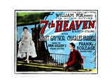 7th Heaven, (AKA Seventh Heaven), from Left, Janet Gaynor, Charles Farrell, 1927 Giclee Print