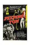 Peeping Tom, 1960, UK Poster Art Giclee Print