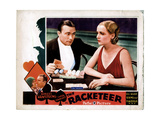 The Racketeer, from Left, Robert Armstrong, Carole Lombard, 1929 Giclee Print