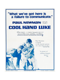 Cool Hand Luke, Paul Newman, 1967 Giclee Print