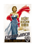 Casablanca, Italian Poster Art, Ingrid Bergman, 1942 Giclee Print