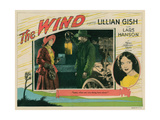 The Wind, Lillian Gish, (Inset Left, and Portrait Right), Lars Hanson (Lantern), 1928 Giclee Print
