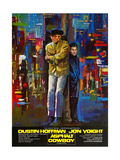 Midnight Cowboy, (AKA Asphalt Cowboy), from Left: Jon Voight, Dustin Hoffman, 1969 Giclee Print