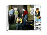 College, Buster Keaton (Center), 1927 Giclee Print