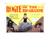 Rogue of the Rio Grande, from Left, Jose Bohr, Myrna Loy, Raymond Hatton, 1930 Giclee Print