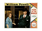 Man of the World, from Left, Wynne Gibson, William Powell, 1931 Giclee Print