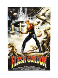 Flash Gordon, Argentinan Poster, Sam J. Jones, 1980 Giclee Print