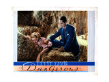 Dangerous, from Left, Bette Davis, Franchot Tone, 1935 Giclee Print