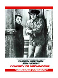Midnight Cowboy, from Left: Dustin Hoffman, Jon Voight, 1969 Giclee Print