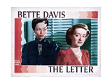 The Letter, from Left, Gale Sondergaard, Bette Davis, 1940 Giclee Print