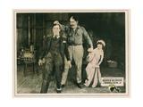 Sherlock Jr., Buster Keaton (Left), Kathryn Mcguire (Right), 1924 Giclee Print