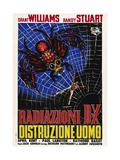 The Incredible Shrinking Man (AKA Radiazioni B-X Distruzione Uomo), Italian Poster Art, 1957 Giclee Print
