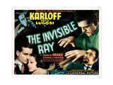 The Invisible Ray, Frank Lawton, Frances Drake Boris Karloff, Bela Lugosi, 1936 Giclee Print