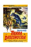 The Land Unknown, (AKA Tierra Desconocida), 1957 Digitálně vytištěná reprodukce