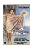 Sans Lendemain, (AKA There's No Tomorrow), German Poster, Edwige Feuillere, 1940 Giclee Print