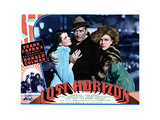 Lost Horizon, from Left, Jane Wyatt, Ronald Colman, Margo, 1937 Giclee Print