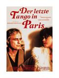 Last Tango in Paris, (AKA Der Letzte Tango in Paris), 1972 Giclee Print